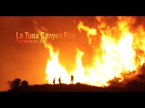 La Tuna Fire