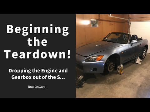 DIY Car Repair: The S2000 teardown begins!