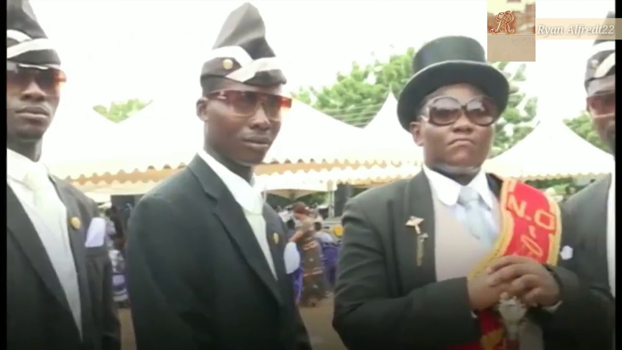 Republic Of Ghana Coffin Dancing Keranda Jo Meme Bogeng