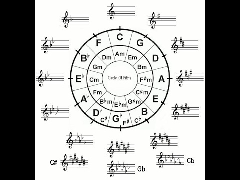 theory lesson 4: the circle of fourths and fifths