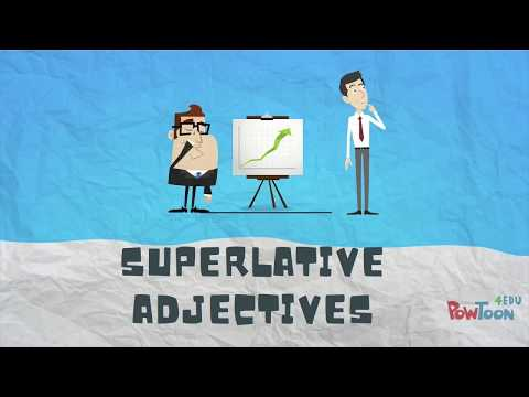 How to Compare Things in English. Superlative Adjectives