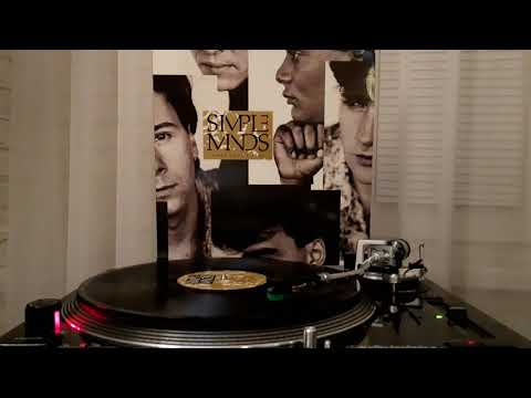 Simple Minds - All The Things She Said (On Vinyl Record)