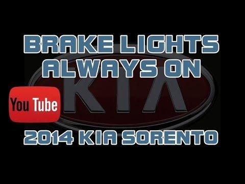 ⭐ 2014 Kia Sorento - Brake Lights Stay On - YouTube