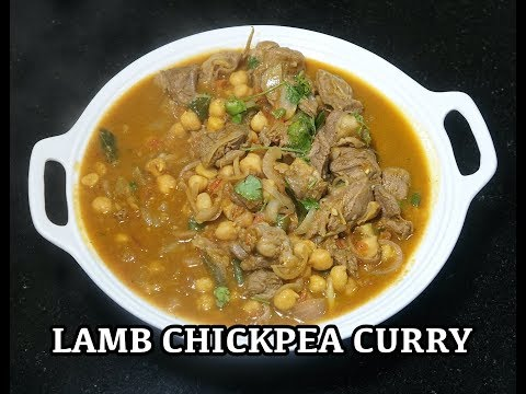 ⏰ Lamb Chickpea Curry - Easy Lamb Curry - Lamb Curry - Lamb Chana Masala - Masala Gosht