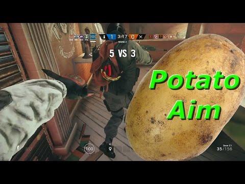 We Suck?! Potato Aim - Rainbow Six Siege Funny Moments