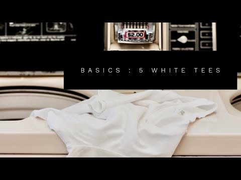Basics: The White Tee | My Top 5