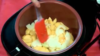 Как приготовить жареный картофель в мультиварке REDMOND RMC 250 МУЛЬТИВАРКА РЕДМОНД