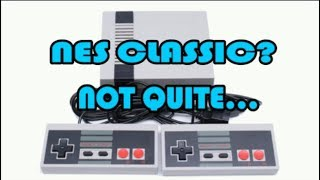 Unboxing, Testing, and Teardown of a bootleg NES Classic from AliExpress