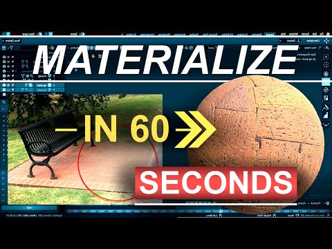 World's Fastest Photo Texturing Software (Materialize Crash Course) - FREE thumbnail