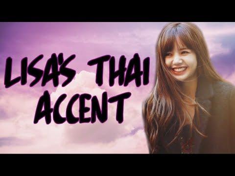 BLACKPINK LISA - THAI ACCENT ENGLISH COMPILATION ♡
