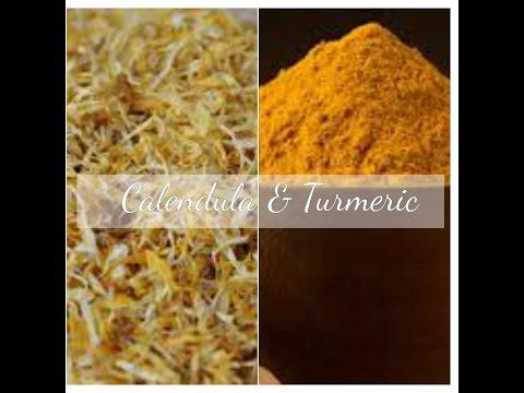 Homemade Hot Process Soap, Making Turmeric & Calendula