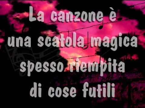Francesco Guccini - Una Canzone (testo)