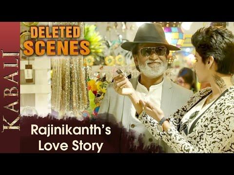 Kabali Expresses His Love For Kumuthavalli | Kabali Deleted Scenes | Dhanshika | Radhika Apte
