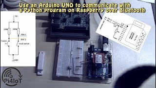 How to communicate between Raspberry and Arduino over Bluetooth