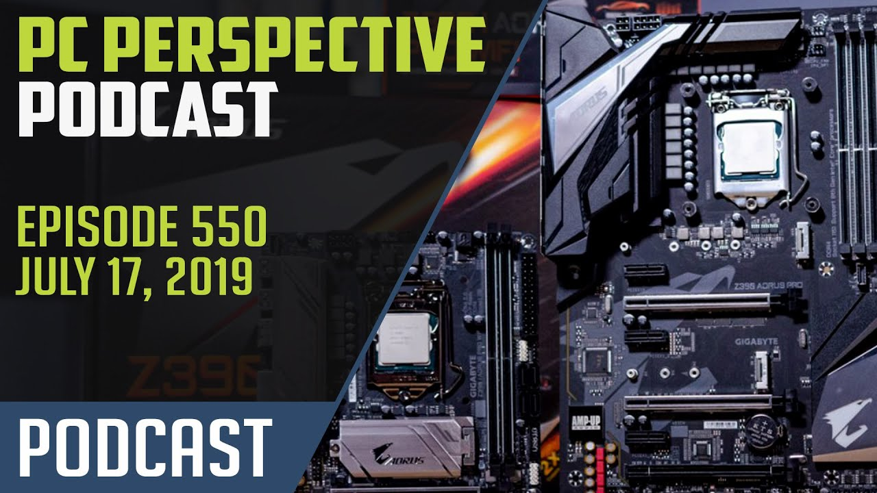 PC Perspective Podcast #550 - Radeon VII RIP, PCIe 4 0 SSD