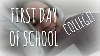 FIRST DAY OF SCHOOL (COLLEGE)