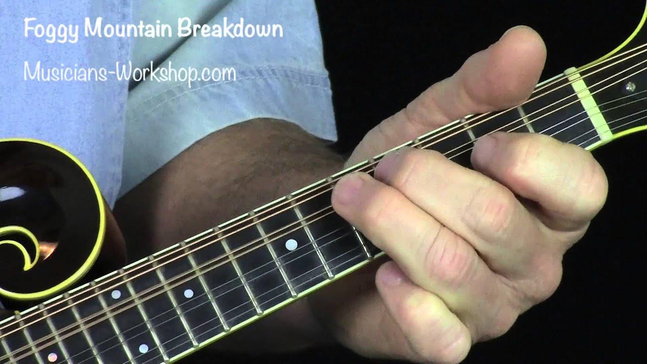Foggy Mountain Breakdown Mandolin 2 Round Solo With Dyno Tab Youtube