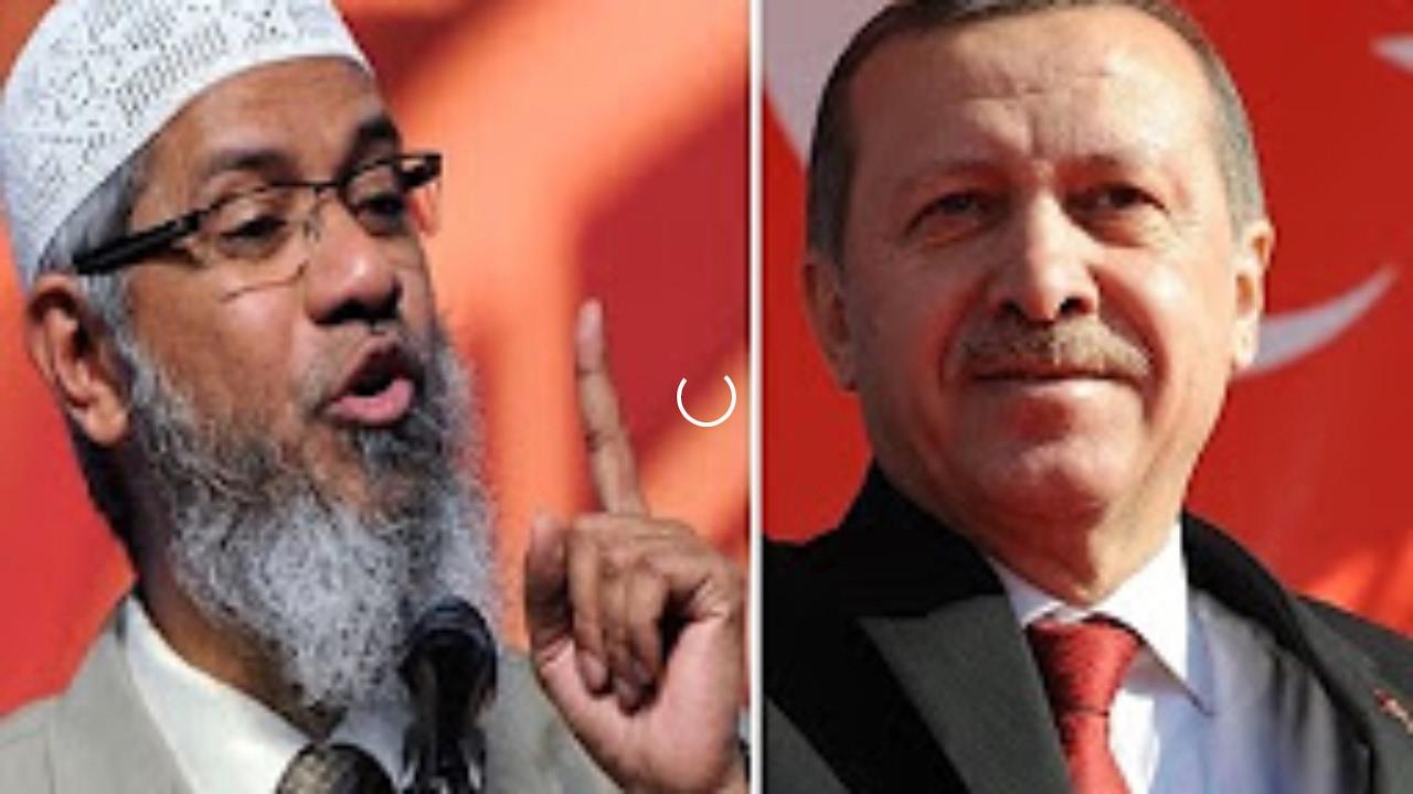 ماذا قال الداعية الاسلامي د. ذاكر نايك عن  رجب اردوغان امام الجمهور لن تصدق !
