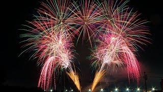 【4K】2019 4th of July Fireworks at Yokota Air Base, Japan