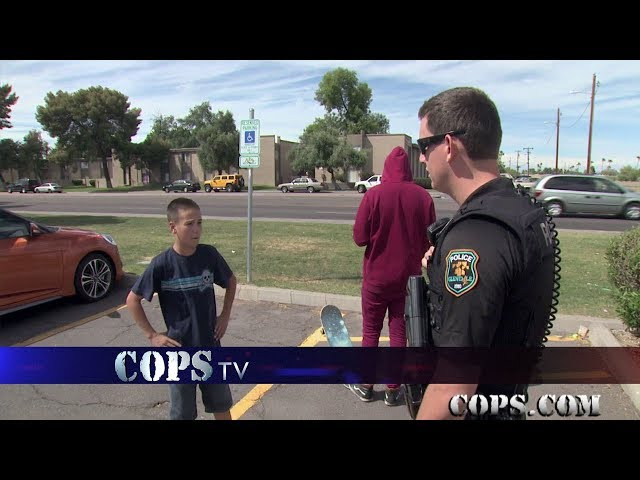 Bike Bully, Officer Mitch Mabry, COPS TV SHOW