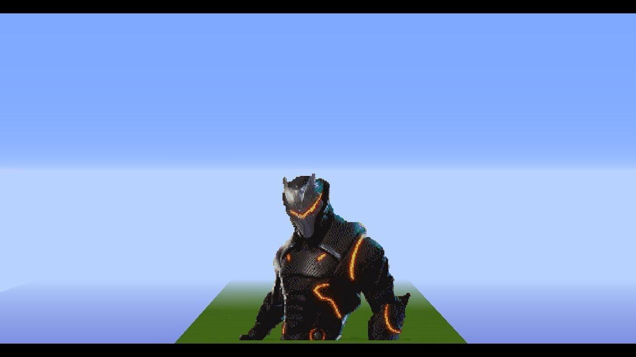 Fortnite Pixel Art Time Lapse Omega