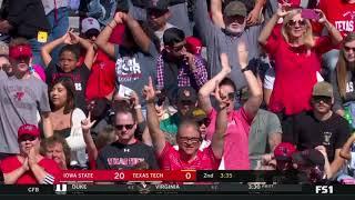 Texas Tech Football vs. Iowa State: Highlights   2019