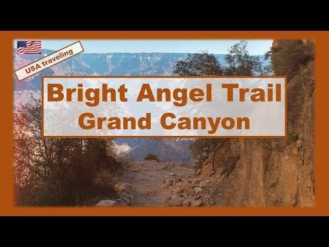 USA traveling : Bright Angel trail hiking Grand Canyon  #arizona
