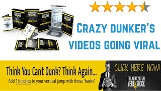 Sports Products: Crazy dunker's videos going viral vert shock review