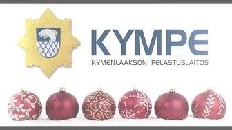 Kymenlaakson pelastuslaitoksen joulutervehdys 2019.