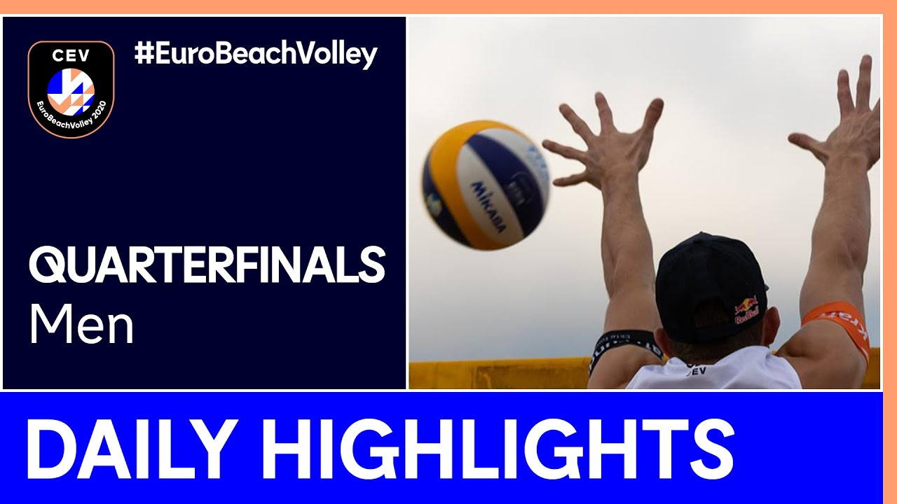 Men Beach Volleyball Day 4 Highlights - #EuroBeachVolley 2020