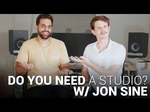 DO YOU NEED A STUDIO to SUCCEED in EDM w/ JON SINE