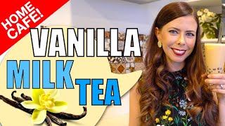 How to Make Vanilla Milk Tea at Home Using Powder