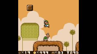 Super Mario Land 2: 6 Golden Coins DX ~ Longplay: Luigi Run