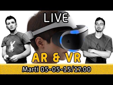 LIVE - Realitatea augmentata si VR - viitorul IT-ului?