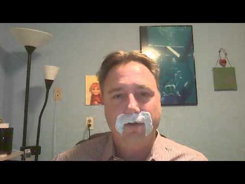 Boston Copywriter Joe DEramo for Movember