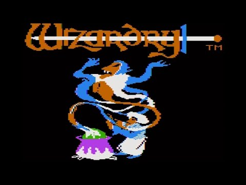 Wizardry #1(AppleII Ver.) GamePlay part1