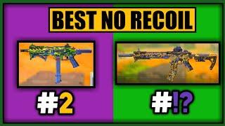 BEST ZERONO RECOIL GUNSMITH LOADOUTS in COD MOBILE SEASON 9  CODM LOW RECOIL GUNS