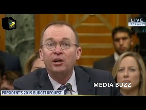 Mick Mulvaney Testifies to Senate Budget Committee On Trump's 2019 Budget Request