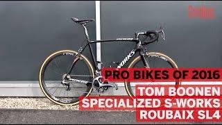 Pro Bikes of 2016: Tom Boonen's S-Works for Paris-Roubaix