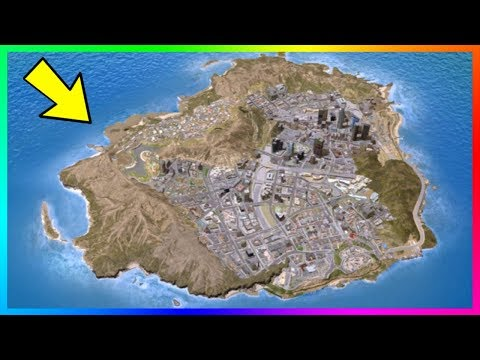 Rockstar Were Originally Going To Make The GTA 5 Map Look Like This! (Unbelievable)