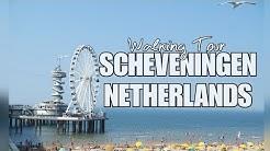 4K SCHEVENINGEN NETHERLANDS-Walking Tour,Beach,Bar,Restaurant,Boulevard,De Pier,Long Beach Station