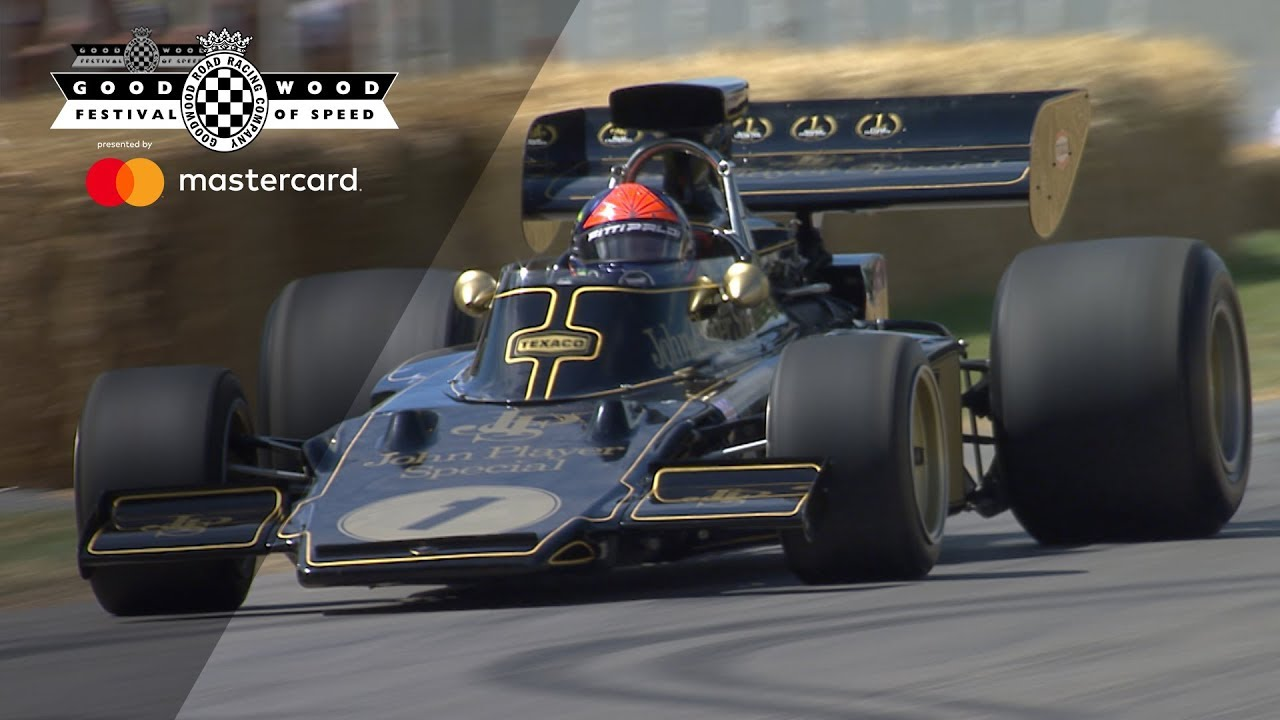 Video] Emerson Fittipaldi reunited with his legendary Lotus 72