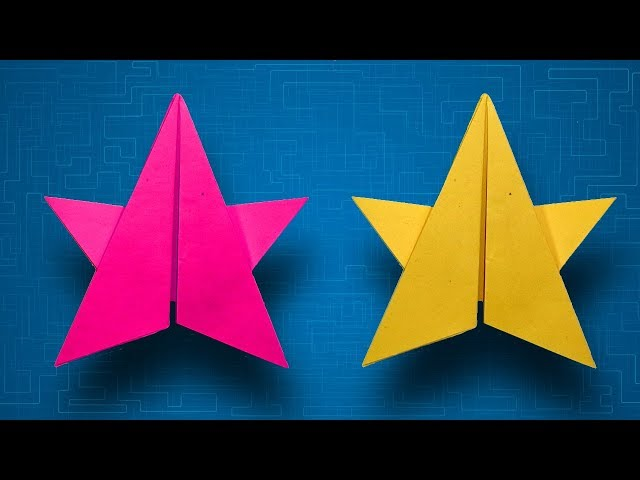 How To Make Easy Origami Stars By Color Paper 5 Pointed Paper Star