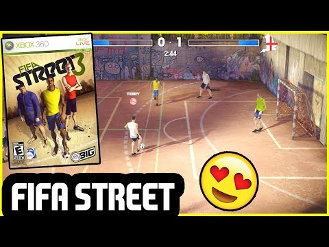 PLAYING FIFA STREET 3 IN 2019 - A CRAZY FIFA GAME