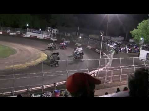Dominic Scelzi 4/27/12 Plaza Park Raceway Super 600 Heat Race