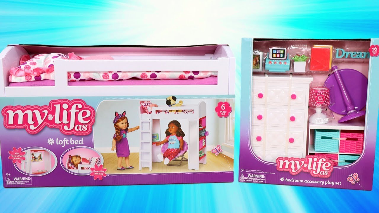 My Life As Bedroom Accessory Play Set