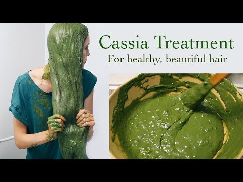 CASSIA TREATMENT FOR HEALTHY HAIR: My experience + how to - YouTube
