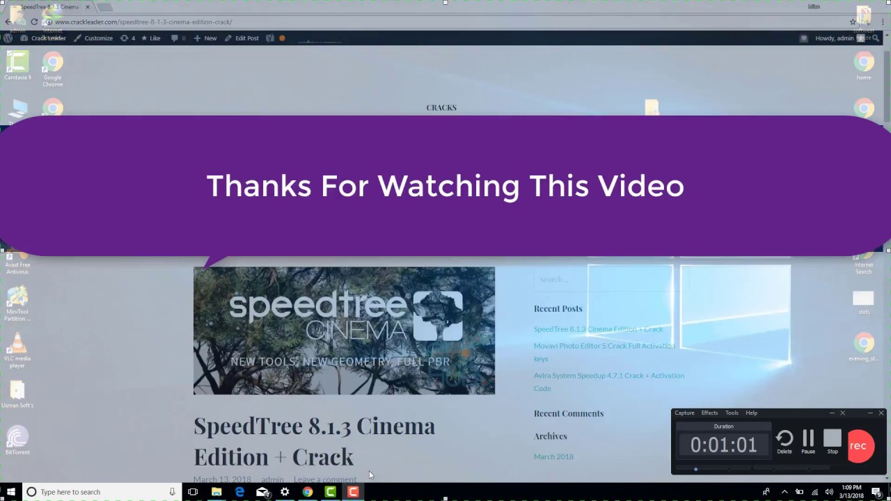 SpeedTree Cinema 8 1 3 Winx64 Full Crack Easy Download