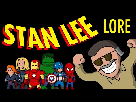 Stan Lee - Lore in a Minute! - Marvel | Timely Comics | Comic Book Creator