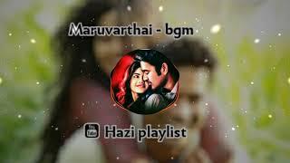 Maruvarthai pesathay lovely bgm
